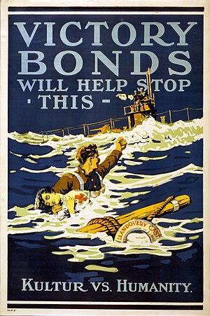 SM U-86 - Image: Victory bonds (Llandovery Castle)