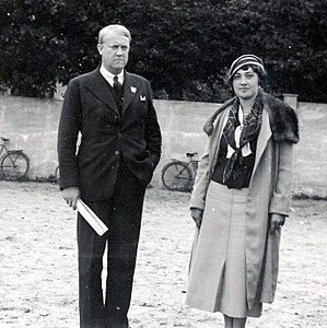 Vidkun Quisling - Quisling and his second wife, Maria.