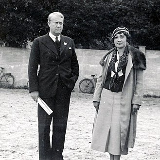 Vidkun Quisling - Quisling and his second wife, Maria