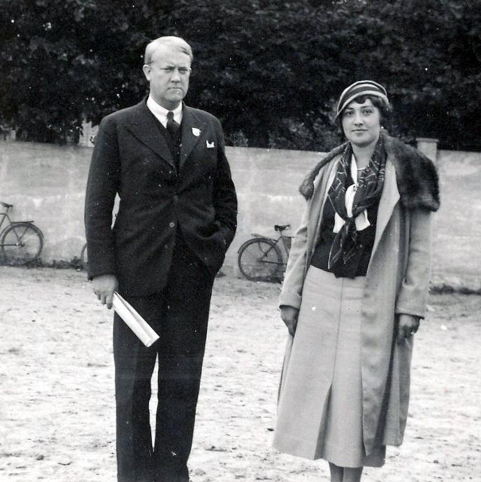 Vidkun Quisling og hans kone Maria.