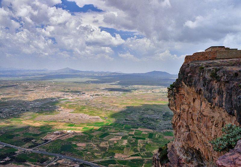 Йемен. Свободное изображение Википедии. Автор фотоизображения Rod Waddington.