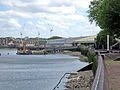 View of Convoys Wharf from the Thames Path.jpg