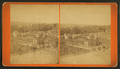 View of the village of Lagonda from the north porch of J. C. Buxton's house in Springfield, from Robert N. Dennis collection of stereoscopic views.png
