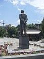 Viktor Hambardzumyan statue, Yerevan 06.jpg