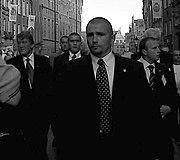 Gardes du corps de Viktor Yushchenko.