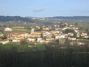 Chambost-Longessaigne - A general view of Chambost