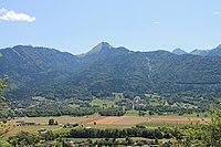 Village de Giez (Haute-Savoie) depuis le Mont-Bogon.JPG