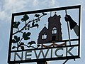Village sign, Newick - geograph.org.uk - 985207.jpg