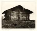 Villars Mountain hut photo-etching 1984.tif