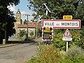 Ville-au-Montois (Meurthe-et-M.) city limit sign.JPG