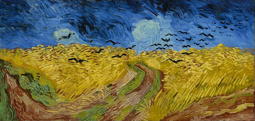 Vincent van Gogh - Wheatfield with crows - Google Art Project