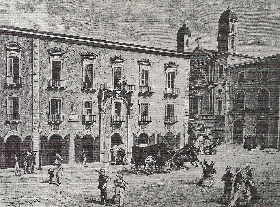 Vincenzo Bellini-Catania birthplace c1800