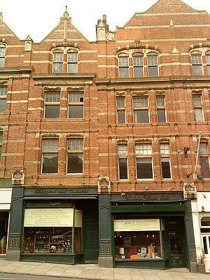Gilbert Smith Doughty - 118 Derby Road, Nottingham 1898-99
