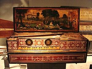 Flemish virginal (Paris, Musée de la Musique)