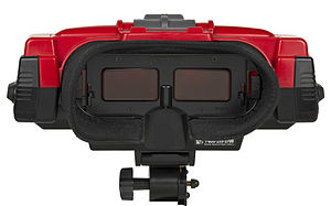 Virtual Boy - The screens of the Virtual Boy