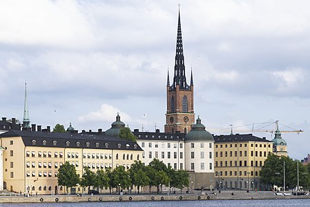 View of City Hall of Stockholm