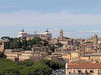 Roma vista dal Giardino degli Aranci (Ripa)