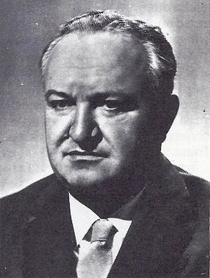 Socialist Republic of Croatia - Vladimir Bakarić, the first Prime Minister of the SR Croatia.