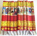 """Volumes de la collection """"Rouge et Or"""" des éditions G.P. (années 70).jpg"""