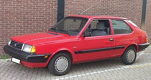 Volvo 300 Series - Image: Volvo 340 GL 1990 red