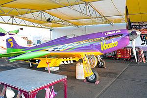 """Voodoo (aircraft) - """"Voodoo"""" at the Reno Air Races, September 14, 2014"""
