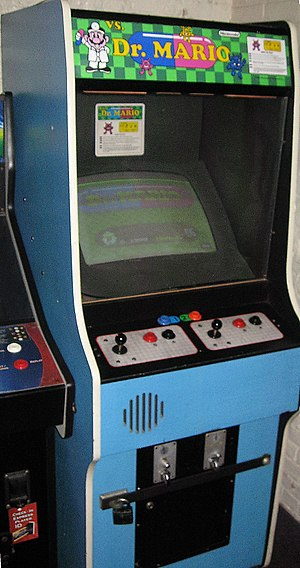 Dr. Mario - A Vs. Dr. Mario arcade machine