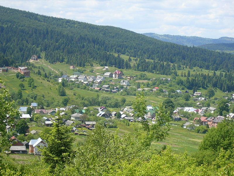 Село Східниця