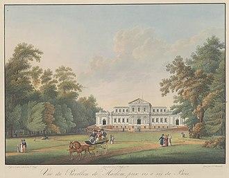 Napoleon in Holland - Villa Welgelegen in 1815