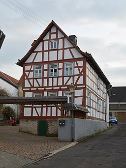 Nebengasse in Idstein