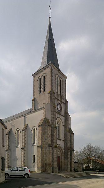 Église Saint-Léger, Fr-49-Saint-Léger-sous-Cholet.