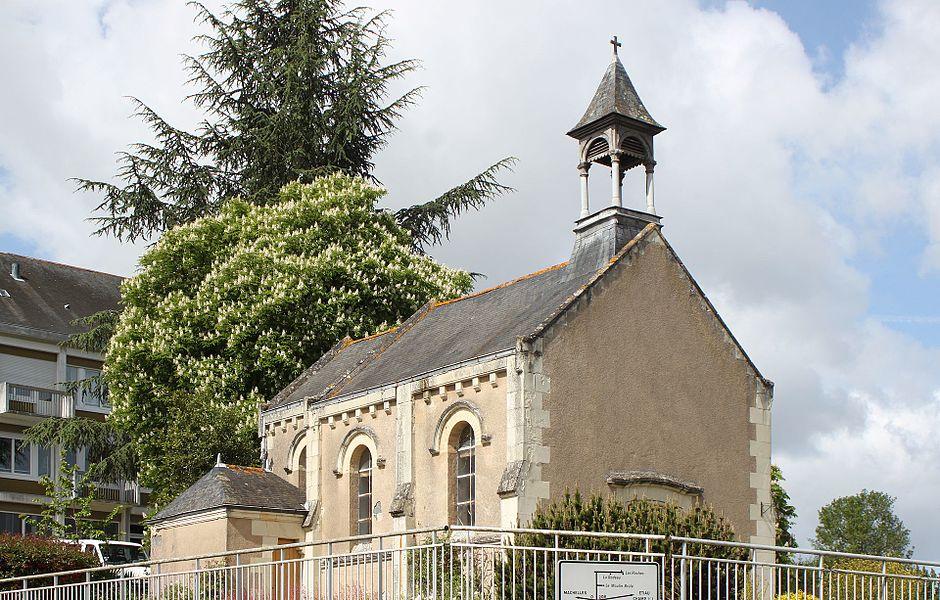 Chapelle de la maison de retraite, les Ponts, Fr-49-Thouarcé.