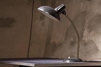 Gooseneck lamp - A gooseneck lamp