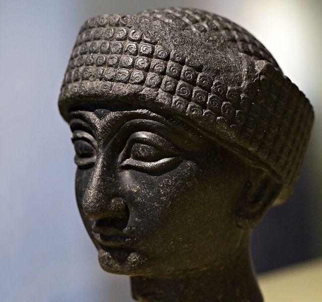 File:WLANL - koopmanrob - Gudea of Lagash, RMO Leiden, 2100 BC, Diorite, Lagash Southern IRAQ.jpg