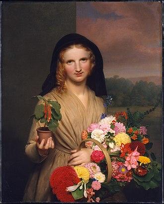 Charles C. Ingham - Flower Girl (1846)