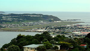 Infratil - Wellington Airport from Mt Victoria