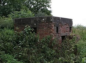 Meynell Langley - Image: WW2 guard outpost cropped 205762