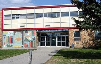 Walter Murray Collegiate - Image: Walter Murray