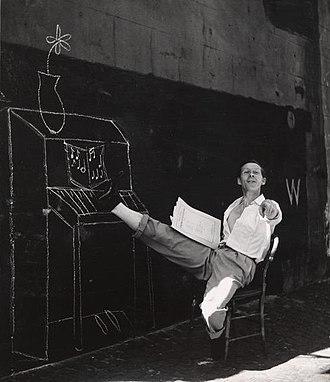 Walter Gore - Ballet Rambert dancer Walter Gore at 'Merioola' in Australia, 1948
