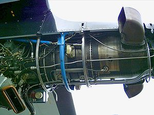 Walter M601 - An M601 mounted on an L-410 UVP in the Kbely museum, Prague
