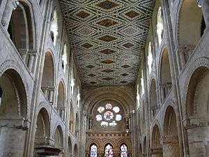 Waltham Abbey (town) - The nave of Waltham Abbey