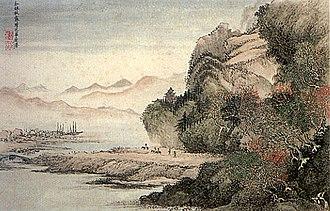 Wang Hui (Qing dynasty) - Image: Wang Hui, landscape painting
