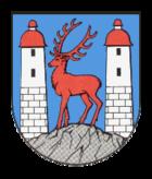 Das Wappen von Augustusburg