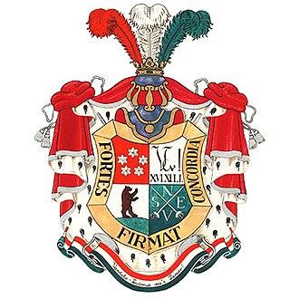 Corps Vandalia-Teutonia - Coat of arms of Corps Vandalia-Teutonia.