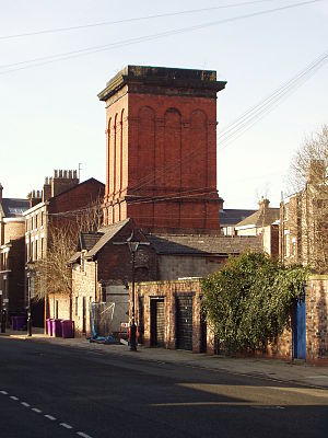 Wapping Tunnel - A ventilation shaft for the Edge Hill Tunnel, situated on Blackburne Place, Liverpool
