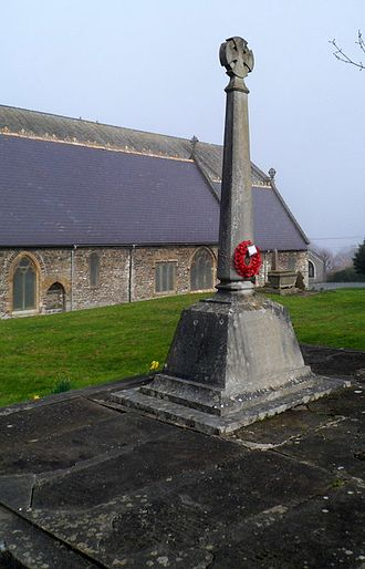 Oystermouth - Oystermouth war memorial