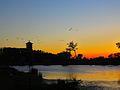 Warner Park Lagoon at Sunset - panoramio.jpg