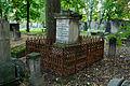 Warszawa Reduta Wolska - cmentarz prawosławny - nagrobek z 1895 roku.jpg