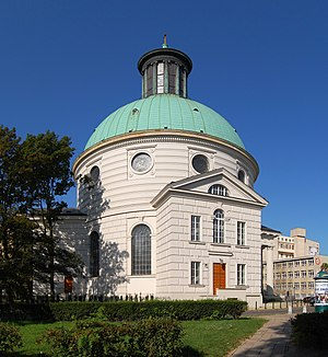 1782 in architecture - Holy Trinity Church, Warsaw