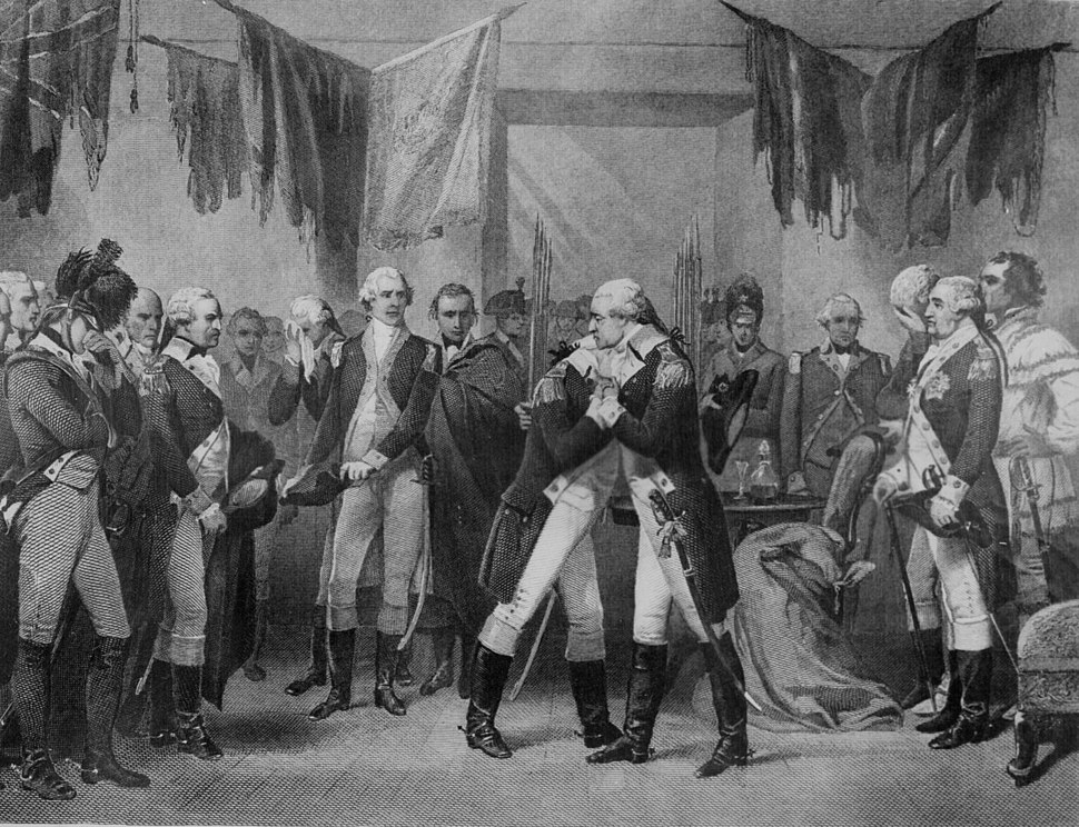 Washington's Farewell by Alonzo Chappel 1866