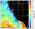 Water temperature off the California coastline.jpg